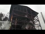 Тушение крупного пожара в Сочи. Погибло 8 человек