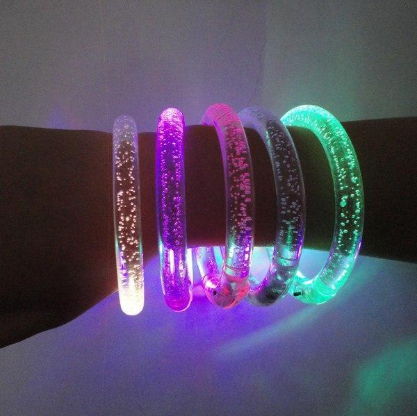 Светящиеся браслеты своими руками