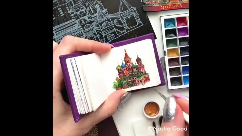 Храм Василия Блаженного в миниатюре