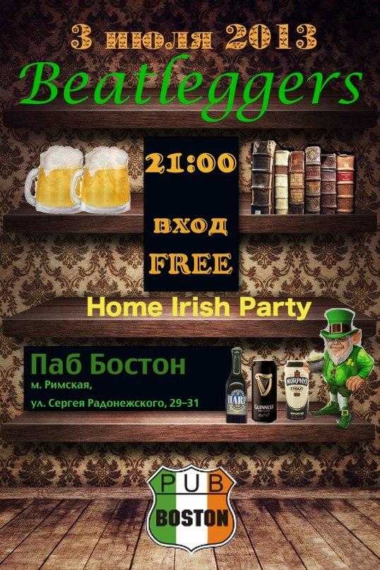 03.07 Beatleggers Irish Home Party!