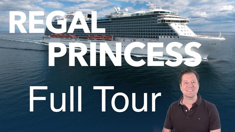 Regal Princess Review- Full Walkthrough - Cruise Ship Tour - Princess Cruises
