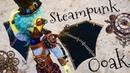 Кукла в стиле СТИМПАНК 🎩💥 ООАК Безумный Макс Кастом механические крылья steampunk ooak repaint