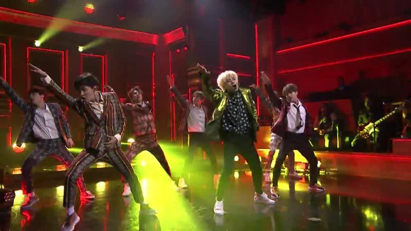180925 Jimmy Fallon BTS Performs Idol