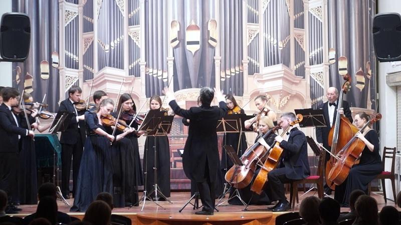 B-A-C-H - Времена года - Зима - В.А. Моцарт, Adagio e Fugue c –moll KV 546, Екатеринбург, 2019.2.27
