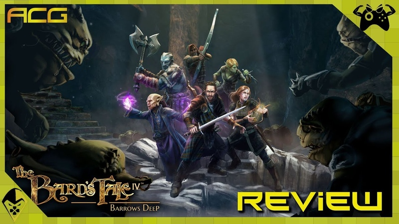 The Bards Tale IV Barrows Deep Review Buy, Wait for Sale, Rent, Never Touch