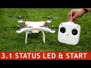 DJI Phantom #30 - Status LED & Start Firmware 3.1 & 3.12