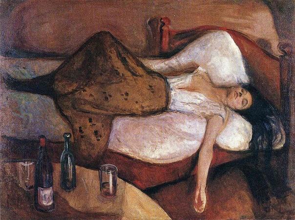 Картина «На следующий день», 1886 год.