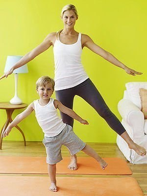Йога и дети — абсолютно совместимые вещи… (6 фото)