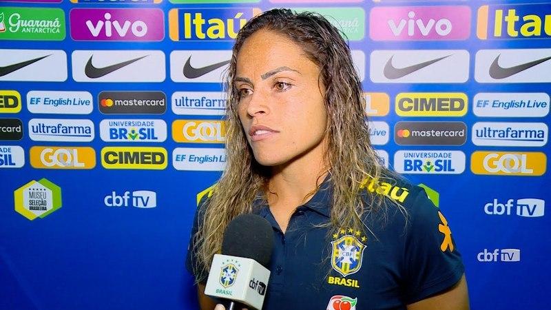 Seleção Brasileira Feminina: equipe analisa vitória sobre o Chile na fase final da Copa América