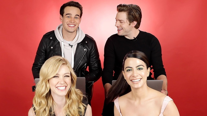 The Cast Of Shadowhunters Discover Which Character They Really Are