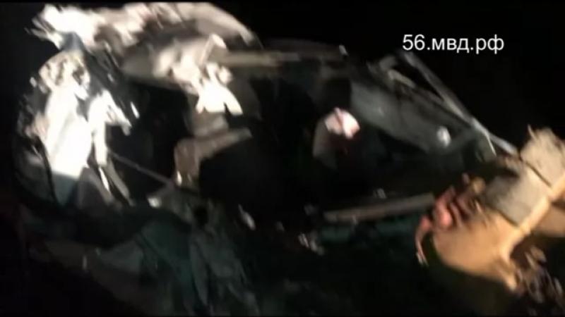 Столкновение автомобилей МАЗ и Тойота Рав 4 в Домбаровском районе