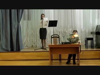Театрализованная постановка Баллады о ненависти и любви Эдуарда Асадова. Режиссер постановщик Юлия Сергеевна Трефилова. 1 часть