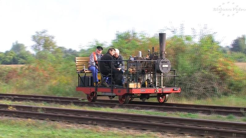 25 Jahre historisches Bahnbetriebswerk Staßfurt 2-4 - Dampflok Steam Train