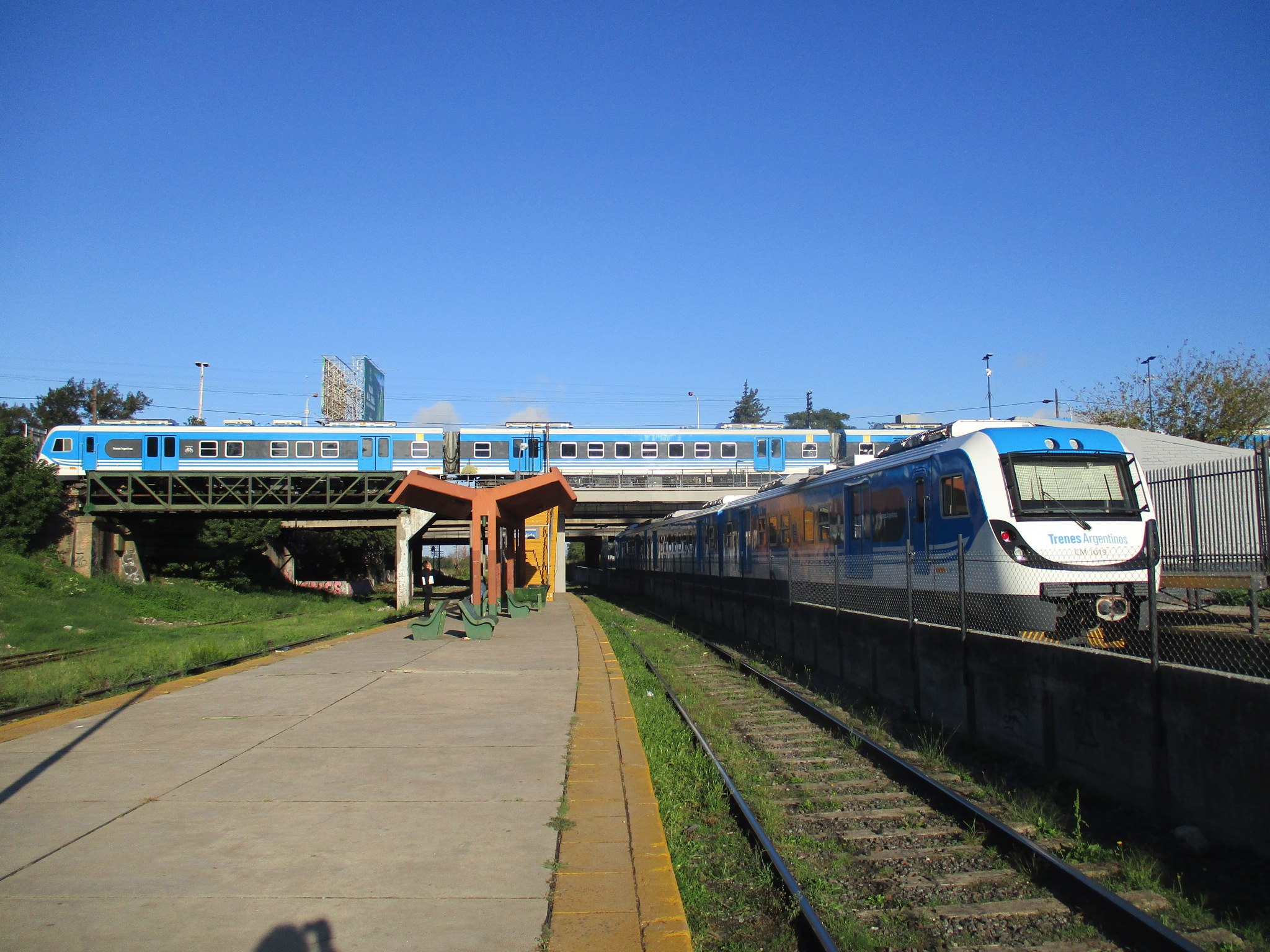 Вокзал Буэнос-Айрес в городе .... Буэнос-Айрес! Совпадение? Не думаю!