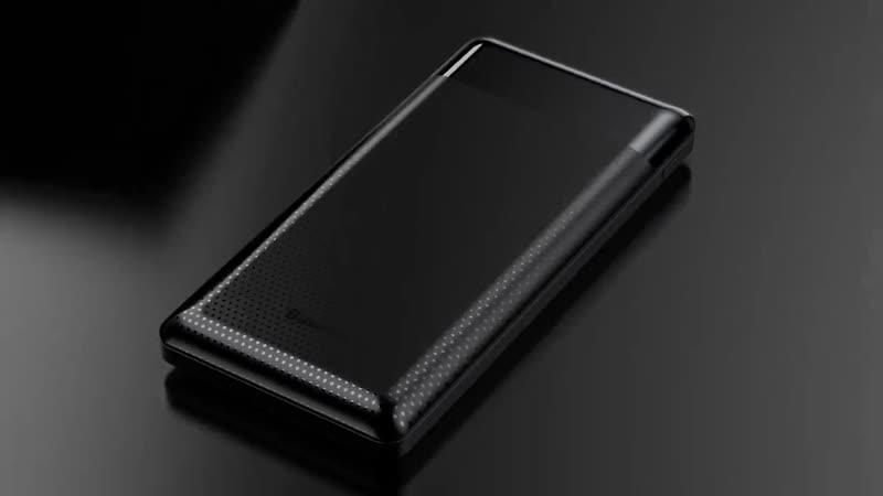 Baseus 10000 мАч power Bank Dual USB - Тонкий повербанк портативный внешний аккумулятор