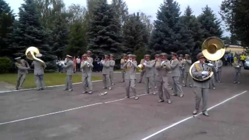 A Cruel Angel's Thesis by Ukrainian Military Band Reborn