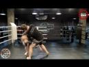 Тайский клинч и удар коленом