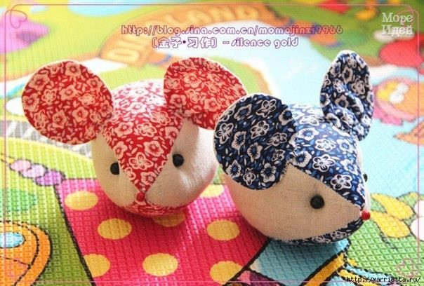Шьем маленьких шустрых мышат (3 фото) - картинка