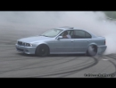 BURNOUTS DRIFTS - 2x BMW M5 E39, 2x M5 F10, M5 E60, M3 E90 in Action