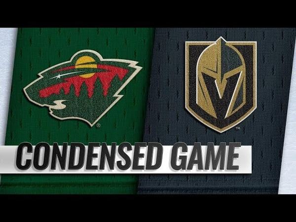 Minnesota Wild vs Vegas Golden Knights Jan 21 2019 Game Highlights NHL 2018 19 Обзор матча