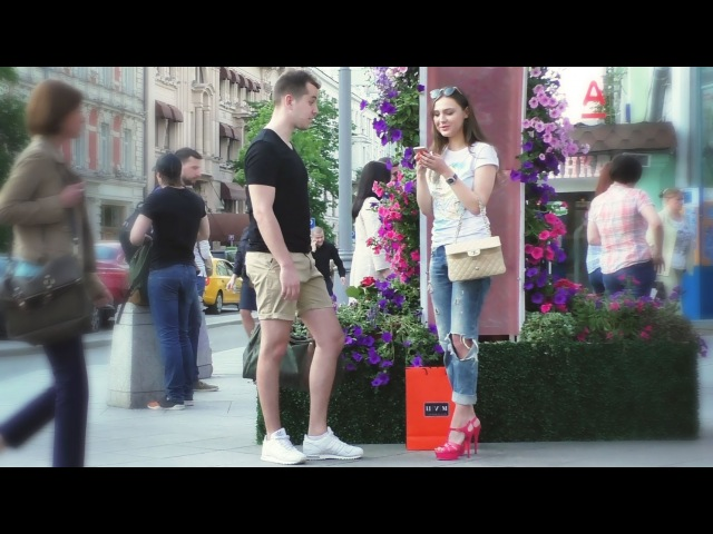 Пикап Знакомство с девушкой на улице №9 Даша из Питера