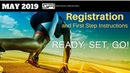 SFI Registration and First Step Instructions MAY 2019