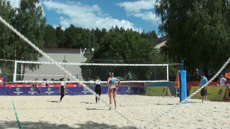 Beach volley Russia Syntuli 2018 W 01 Frolova Romashova and Ukolova Birlova