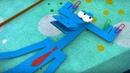 Бумажки -Сборник серий 31-35 - мультфильм про оригами для детей