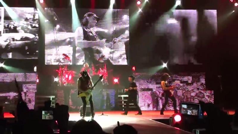 Scorpions - Wind of change (Киев, Дворец Спорта 29.10.2012)