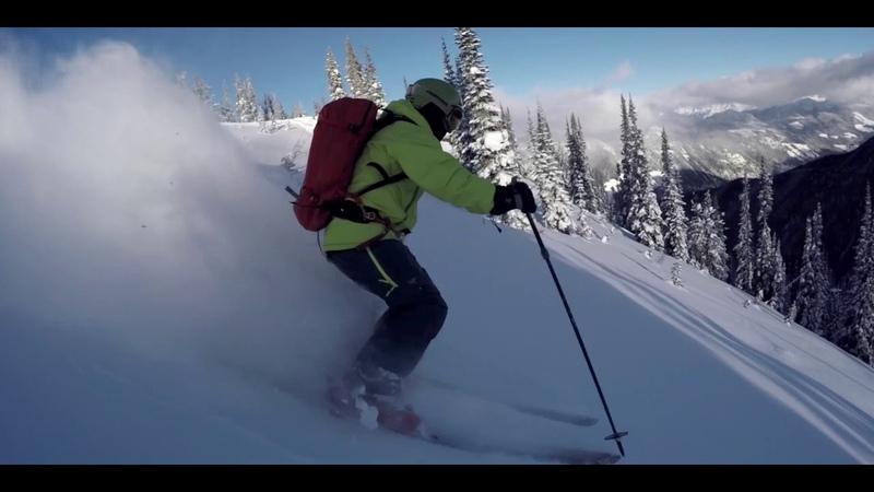 Powder days! Freeski Team catskiing in Retallack, Canada