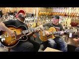 Kirk Fletcher &amp Josh Smith playing a pair of Gibson Super 400CES