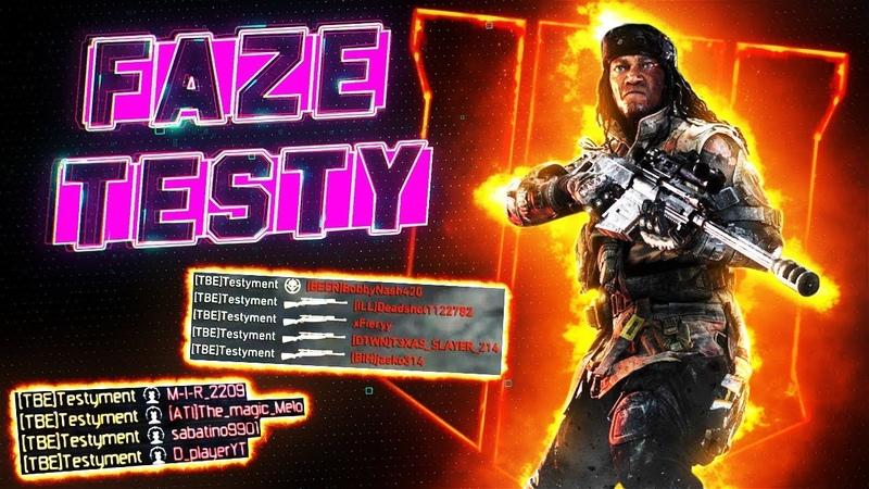 FaZe Testy Call of Duty Montage