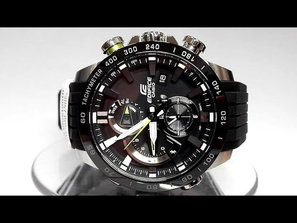 Casio Edifice EQB-800BR-1A Bluetooth Smart Solar powered watch 2018