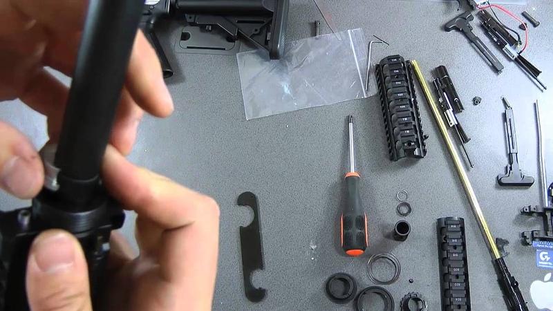 Tutorial - M4 Sopmod Next Generation Recoil Shock Series Disassembly Video