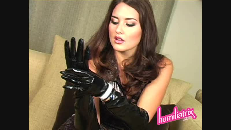 Goddess Selena cum gloves
