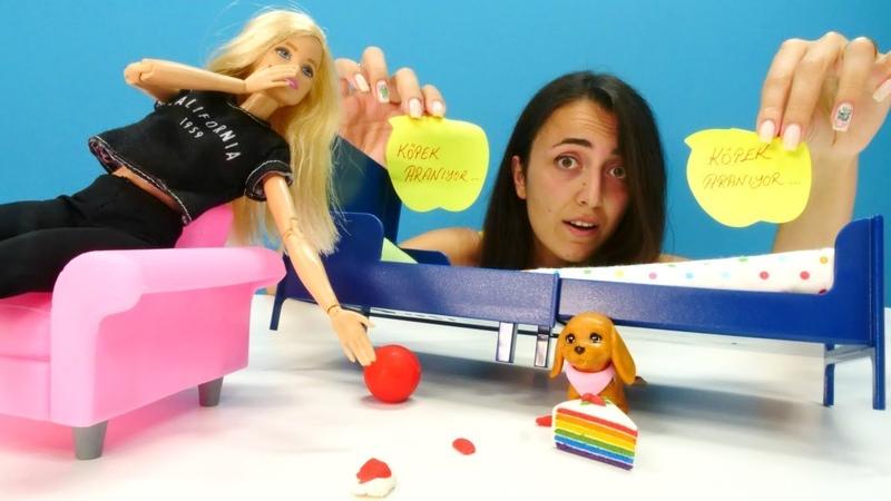 Barbie ve Sevcan kaybolan Duffyyi arıyorlar. Kız videoları