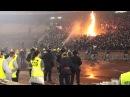 Crvena Zvezda - Partizan Beograd 2013.11.02. / Grobari burned Marakana 12 mins long video/ VI.