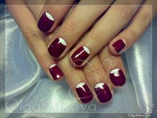 Дизайн ногтей покрытых гель-лаком