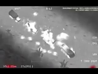 ЖЕСТЬ!!!!!!11.02.18 Американцы разгромили колонну русских солдат в Сирии