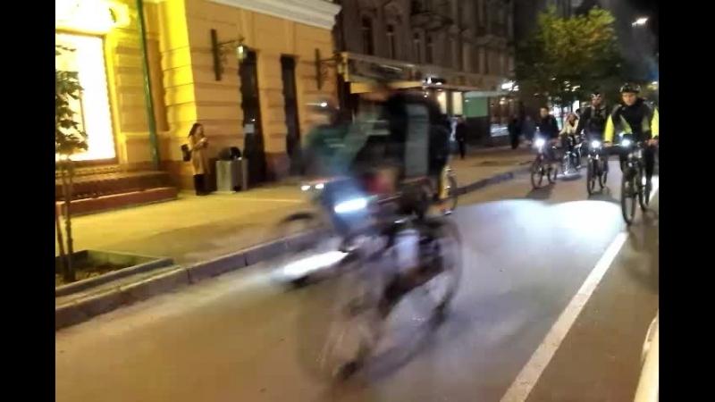 Пробег в память о погибших велосипелистах