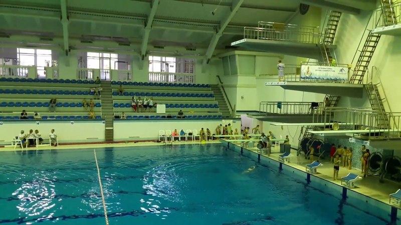 Соревнования 27.05.18 3 прыжок Солдатик 5 метров