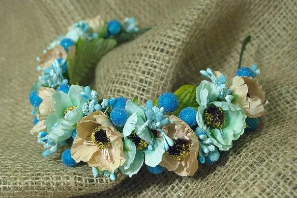 Оригинальные цветочные ободки Flowers Story (6 фото) - картинка
