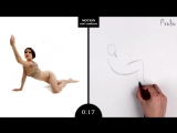 Proko Figure drawing fundamentals - 01 Gesture - Gesture Quicksketch - 30 Second Pose (1)
