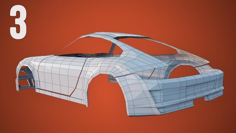 CGC Classic: Modeling a Porsche Pt. 3 - Rear Bumper (Blender 2.4)