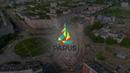 ЖК PARUS, Северодвинск. Аэросъемка хода строительства, июль 2018