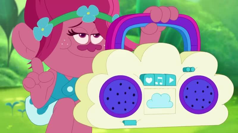 Тролли: праздник продолжается на СТС Kids! Мультфильмы