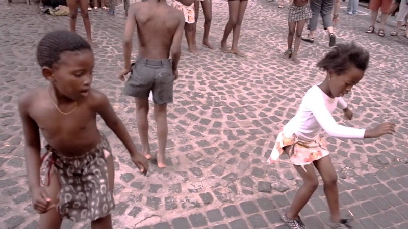 CAPE TOWN, young BOYS AND GIRLS DANCING beautifully in South Africa