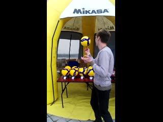 Mikasa новые мячи!