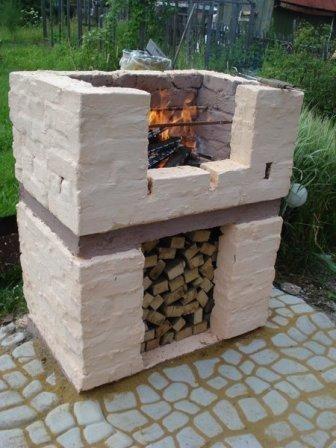 Интересная идея для гриля или барбекю на даче!