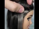Наращенные волосы у куклы? ЧТООО?
